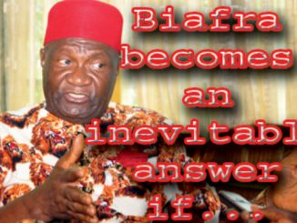 Ohanaeze prefers restructuring to break-up – Nnia Nwodo