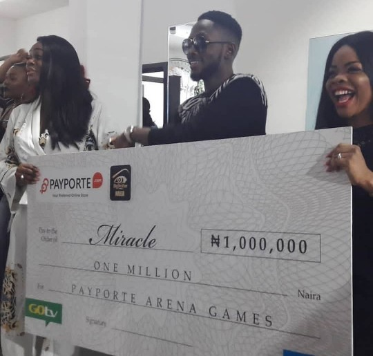 BBNaija 2018 Winner Miracle Gets His SUV, Bags Ambassadorship And Reveals Who He Wants To Take On His All Expense Paid Trip For Two