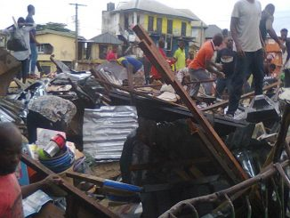Demolitions in Owerri