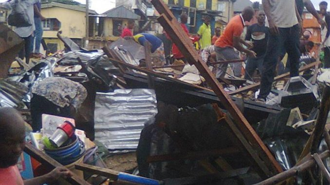 Demolitions in Owerri