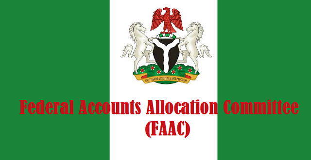 FAAC: 17 States Insolvent, Generate less than 10% of Federal Allocation