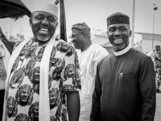 Uche Nwosu and Rochas Okorocha