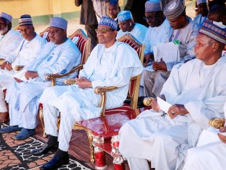 Buhari-sits-at-APC-Congress