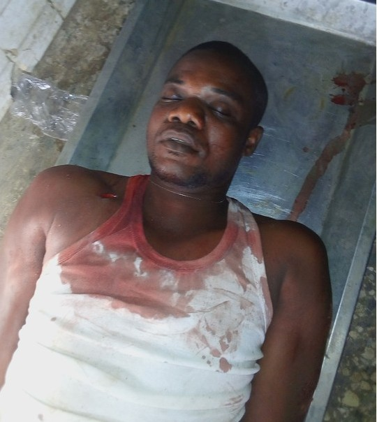 OMG!!! Man Stabs His Blood Brother To Death In Owerri, SEE Why (Graphic Pics)