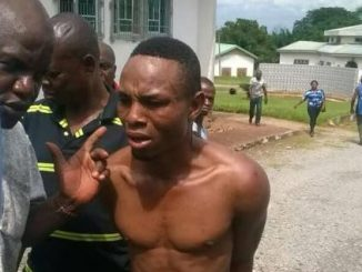 "Notorious Armed Robbery Kingpin from Nnachioma Umuariam Obowo, Izuchukwu Chibundu Lawrence popularly known as ""POLICE"""