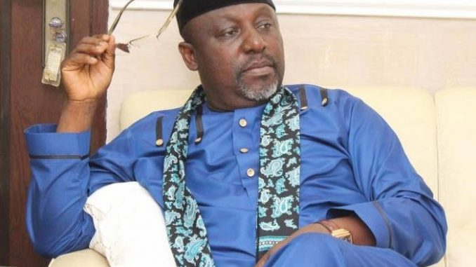 Imo APC does not know you – Governor Okorocha tells Senator Uzodinma