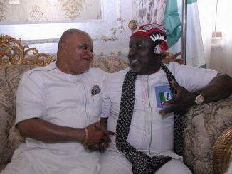 Rochas okorocha and Ifeanyi Araraume