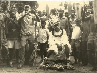 21st August 1976 - Traditional Rites and Coronation of Eze Eri 34th (Eze Aka Ji Ovo Igbo)