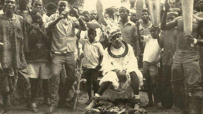 21st August 1976 - Traditional Rites and Coronation of Eze Eri 34th (Eze Aka Ji Ovo Igbo)