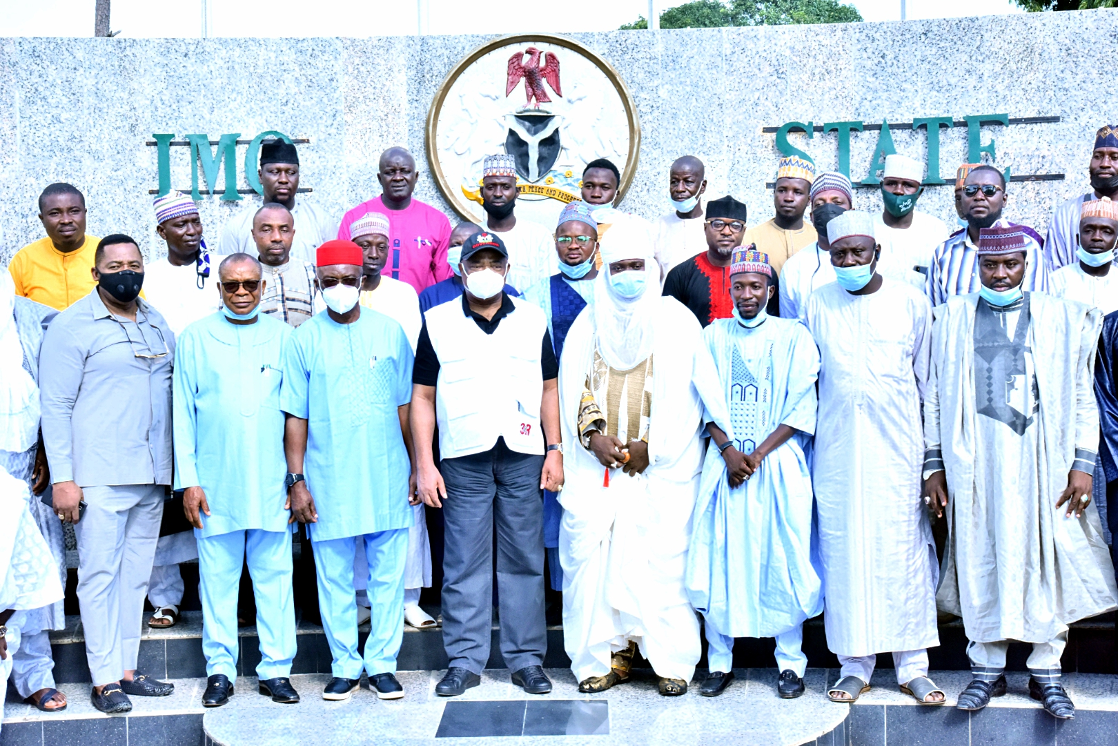 Courtesy visit by onion producers and marketers